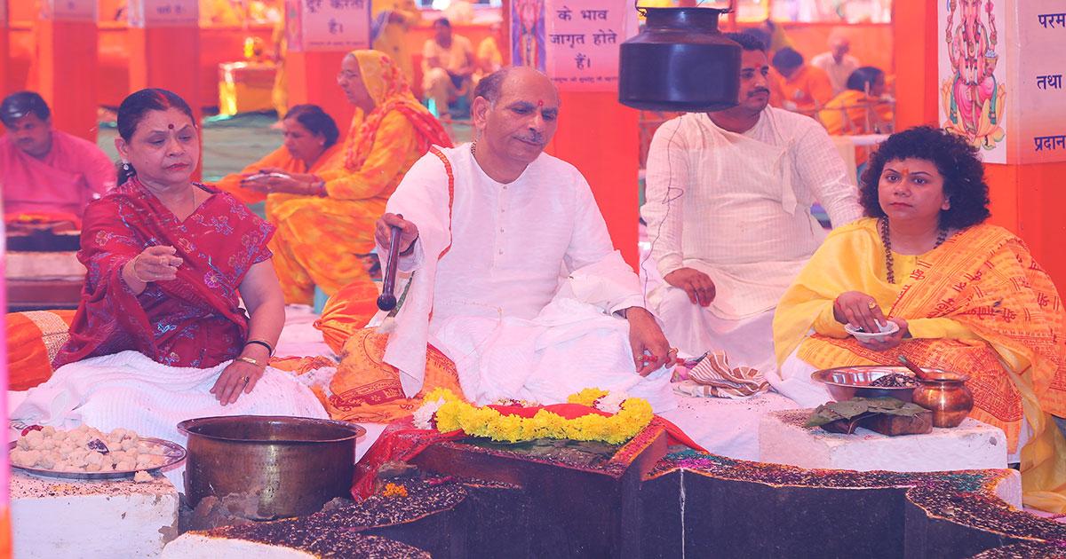 Shri Ganesh Lakshmi Mahayagya-October 5-8, 2017-Vishwa Jagriti Mission-Sudhanshu Ji Maharaj